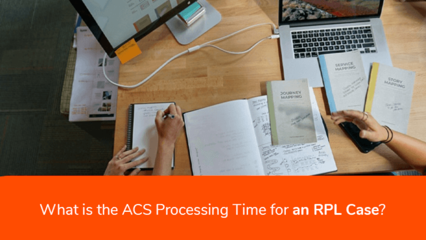 ACS Processing time