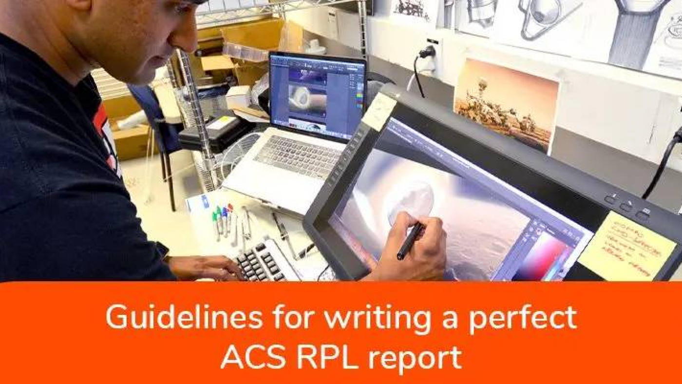 guidelines for writing RPL report