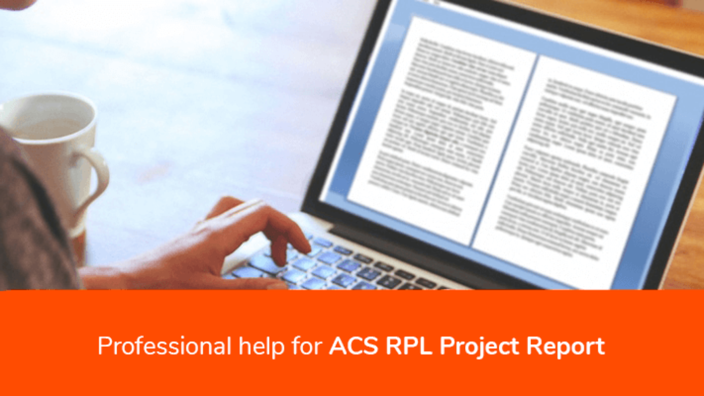 Professional help for ACS RPL Report