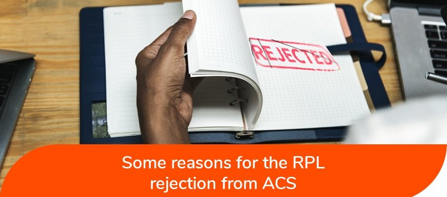 Reasons for RPL Rejection from ACS