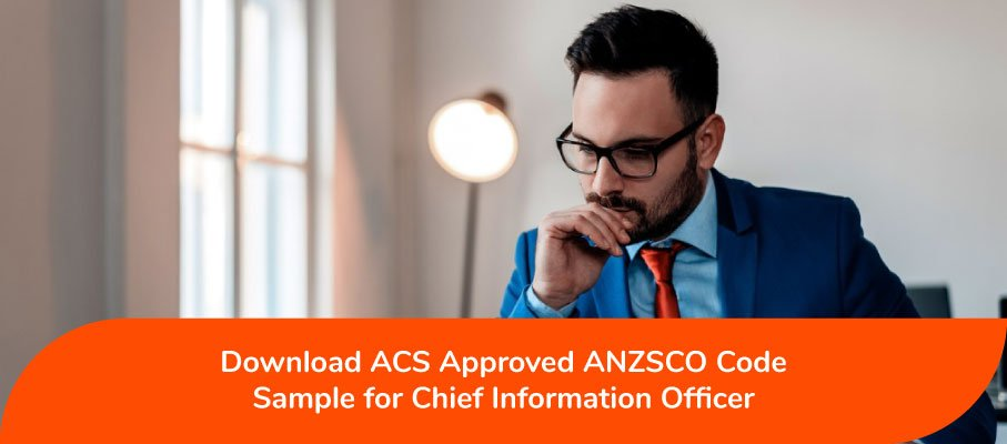 Chief Information Officer ANZSCO 135111