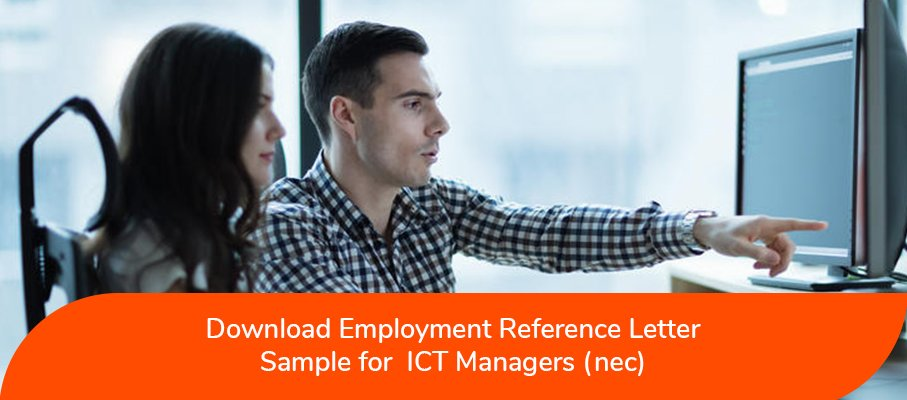 ACS Reference Letter Sample for ICT Managers