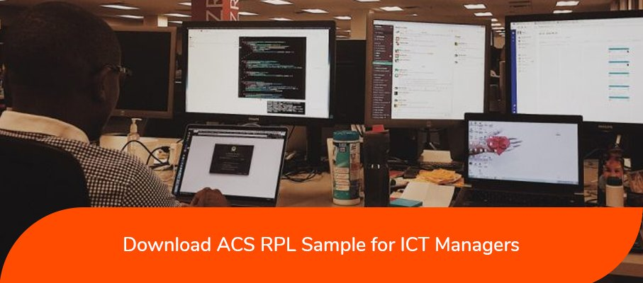 ACS RPL sample for ICT Managers