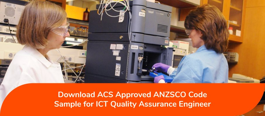 ICT Quality Assurance Engineer ANZSCO 263211