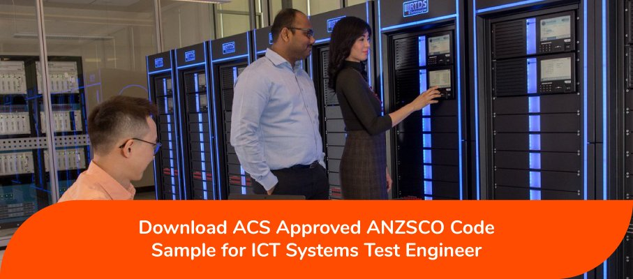 ICT Systems Test Engineer ANZSCO 263213