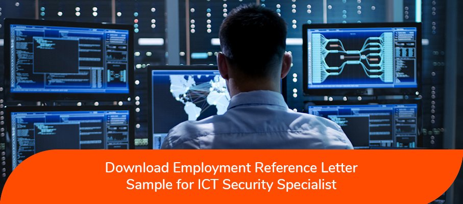 acs reference letter sample for ICT Security Specialist