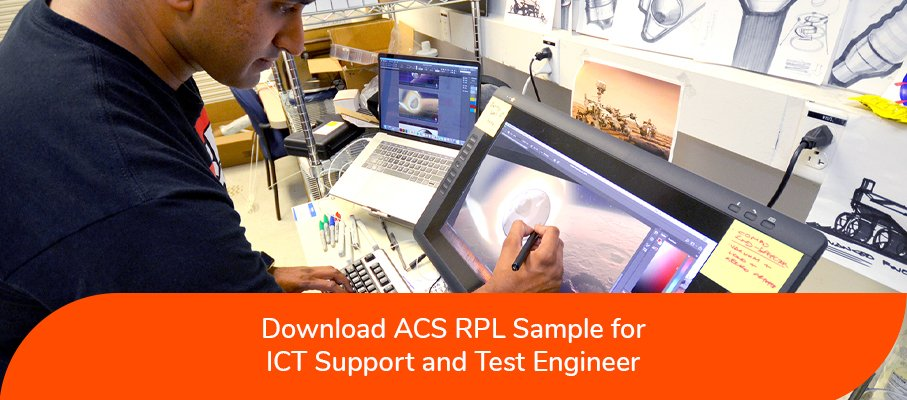 ACS RPL Sample for ICT Support and Test Engineers