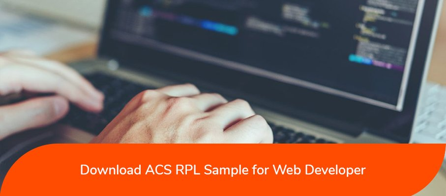 ACS RPL Sample for Web Developer