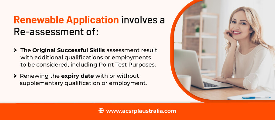 Reassessment of Application