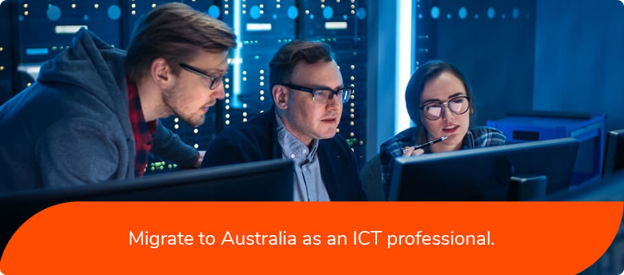 Migrate to Australia as an ICT Professional.