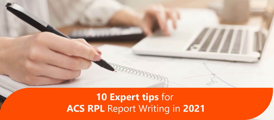10 Expert tips for ACS RPL Report Writing in 2021